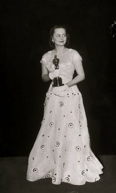 With her Oscar for The Heiress