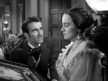 With Monty Clift in The Heiress 1949