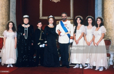 With the cast of Anastasia- The Mystery of Anna 1986