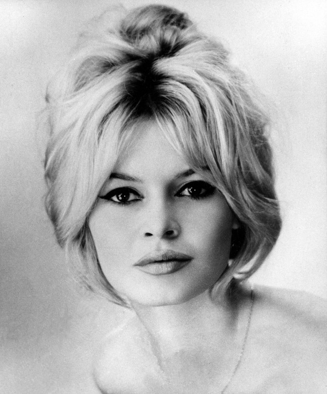 This is a 1954 portrait of French actress Brigitte Bardot. (AP Photo)