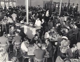 Disney Studios Commissary c. 1940s