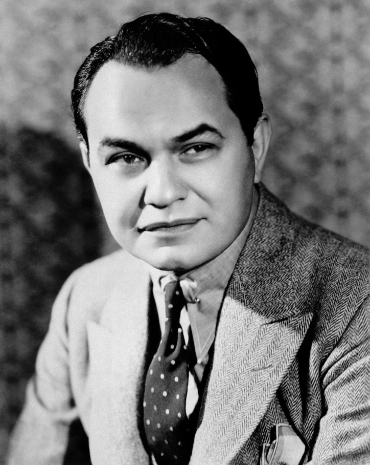 "Actor Edward G. Robinson in New York shown Dec. 1, 1942, was born in Bucharest in 1893 and came to this country when he was ten years old. He was educated at the College of the city of New York, Columbia University and the American Academy of Dramatic Arts. On the stage for years before going to Hollywood in 1929. List of characters he made famous in films include ""Little Caesar,"" the managing editor in ""Five Star Final"" and almost any gangster appears frequently on the radio. (AP Photo)"