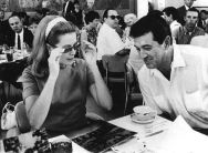 Grace Kelly and Rock Hudson - MGM Commissary