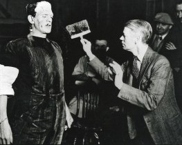 Shooting BRIDE OF FRANKENSTEIN