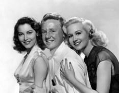 Ava Gardner, Van Johnson and Marilyn Maxwell