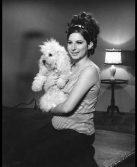 Barbra and pup