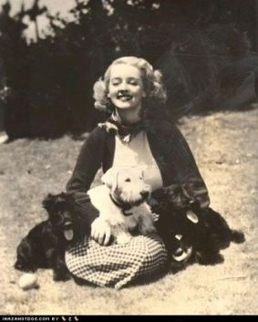 Bette in the park