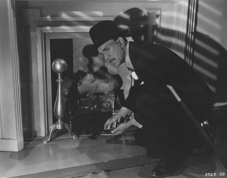 Karloff as Wong in DOOMED TO DIE