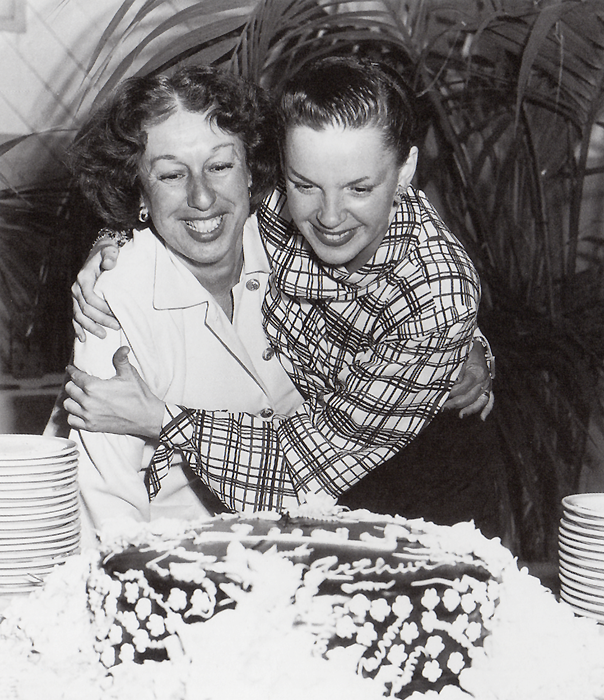 Dottie with Judy on June 9, 1950 as Judy celebrated her birthday.
