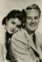 Gorgeous shot with Van and Esther Williams