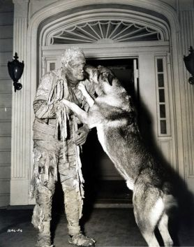 Lon Chaney Jr. as The Mummy