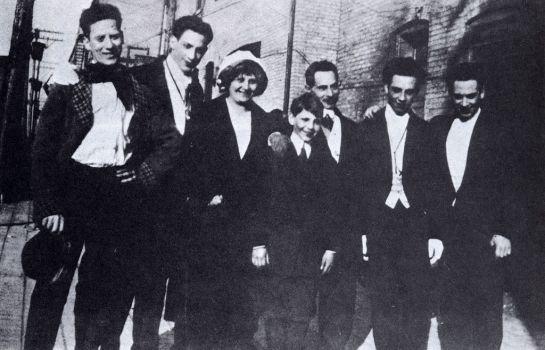 Marx family c. 1915