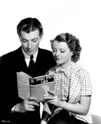 With Robert Taylor in Small Town Girl 1936