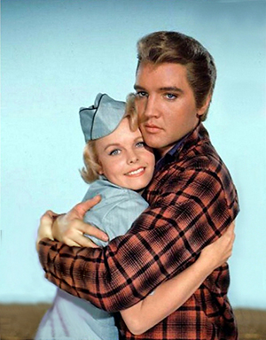 Blonde Elvis with Cynthia Pepper