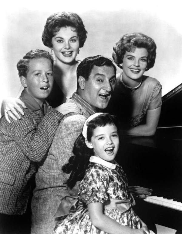 MAKE ROOM FOR DADDY, Rusty Hamer, Penny Parker, Danny Thomas, Angela Cartwright, Marjorie Lord, 1953-65