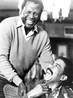 Poitier with Pryor