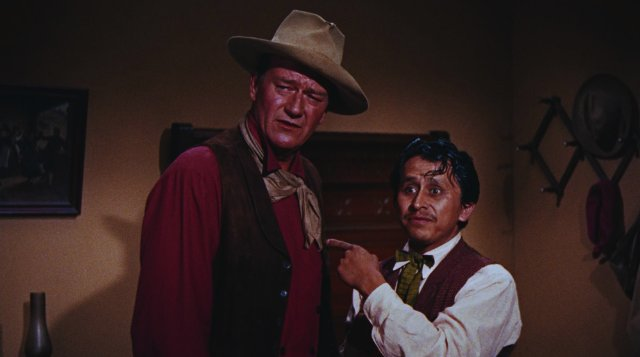 With Wayne in Rio Bravo