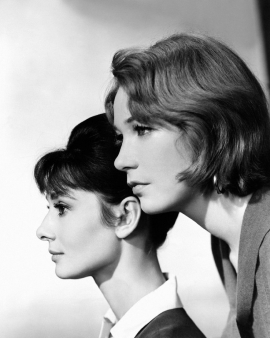 Audrey Hepburn and Shirley MacLaine - The Children's Hour