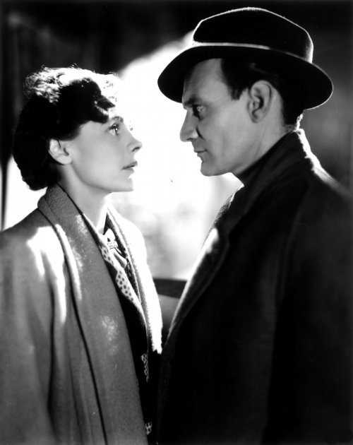 Celia Johnson and Trevor Howard as Celia and Dr. Harvey