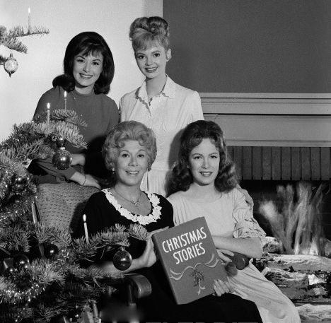 Pat Woodell, Gunilla Hutton, Bea Benaderet and Linda Henning