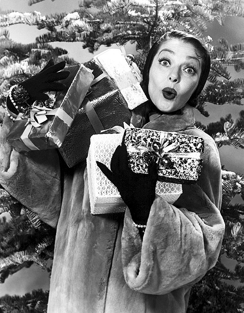 Beware Loretta Young bearing gifts