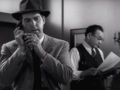 Walter Neff played by Fred MacMurray