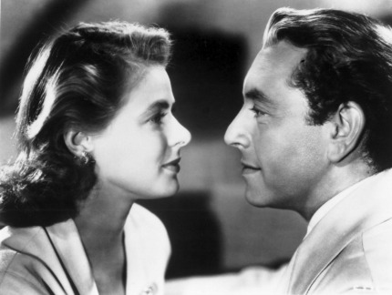 Ingrid Bergman as Ilsa Lund and Paul Henreid as Victor Laszlo in Casablanca