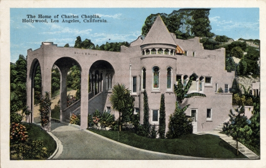 Friday Foto Follies Vintage Movie Star Homes Once Upon