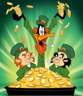 Daffy and the luck...