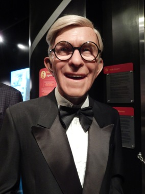 Close-up of George Burns
