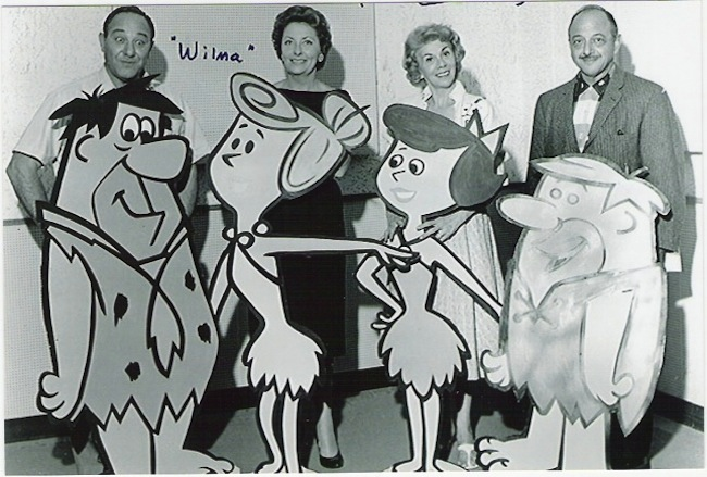 1960: The Flintstones voices: Fred Flintstone – Alan Reed Wilma Flintstone – Jean Vander Pyl Betty Rubble – Bea Benaderet Barney Rubble – Mel Blanc
