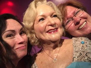 Kellee, Betty White and yours truly