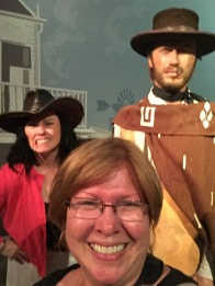 the Westerns section - Kellee, Eastwood and me