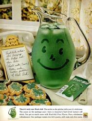 Kool-Aid (1961) vintage St. Patrick's Day ad