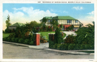 Marion Davies, Beverly Hills