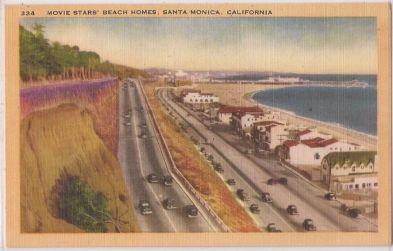 Movie stars' beach homes
