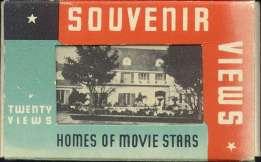 Postcard folder 1930s