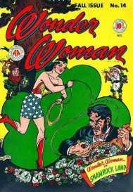 Wonder Woman in Shamrock Land 1945