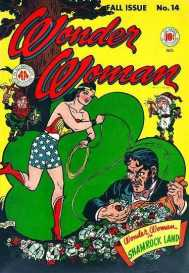Wonder Woman in Shamrock Land 1945