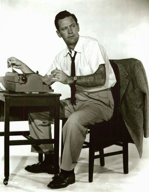 Forever Female (1953) promo shot of William Holden