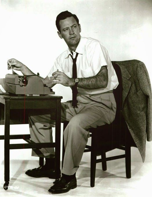 Forever Female (1953) promo shot of William Holden – Once upon a screen…