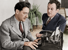 George S. Kaufman & Moss Hart c. 1937