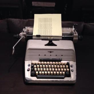 Jack's typewriter