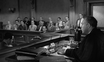 Judge and jury in 12 Angry Men