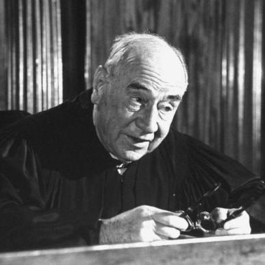 Judge Weaver in Anatomy of a Murder