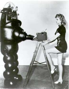 Robby the Robot types
