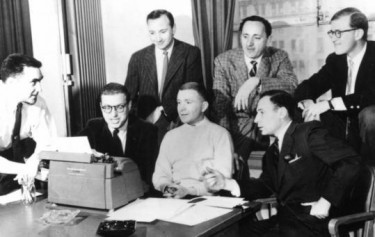 Writers on You Show of Shows - Mel Brooks; Carl Reiner; Neil Simon; Danny Simon; and Mel Tolkin