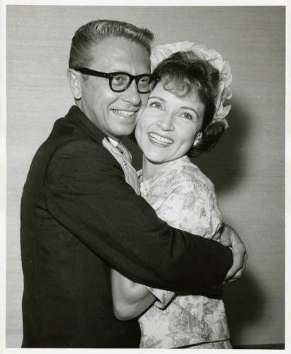 Allen Ludden and Betty white