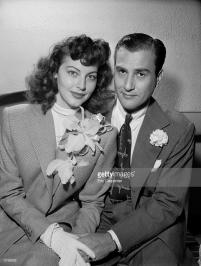 Ava Gardner and Artie Shaw