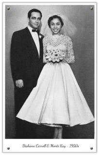 Diahann Carroll weds Monte Kay